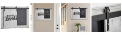 Crystal Art Gallery American Art Decor You Are Loved Wall Mounted Chalkboard Message Board