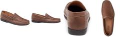 Johnston & Murphy Men's Locklin Woven Venetian Loafers