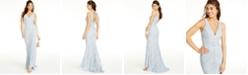 Jump Juniors' Lace Maxi Sheath Dress