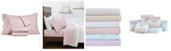 Martha Stewart Collection 4-Pc. Printed Microfiber King Sheet Set, Created for Macy's
