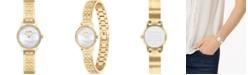 COACH Women's Gold-Tone Stainless Steel Bracelet Watch 22mm