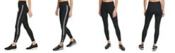 DKNY Sport Printed-Stripe High-Waist Leggings