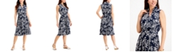 Charter Club Floral-Print Shirtdress, Created for Macy's