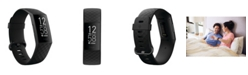 Fitbit Charge 4 Black Band Touchscreen Smart Watch 22.6mm