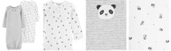 Carter's Baby Boys & Girls 2-Pk. Cotton Panda Sleeper Gowns