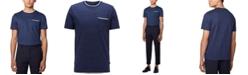 Hugo Boss BOSS Men's Tessler 134 Open Blue T-Shirt