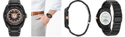 "Citizen Eco-Drive Men's Tony Stark ""I Love You 3000"" Black Stainless Steel Bracelet Watch 43mm"