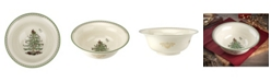 Spode CLOSEOUT! Christmas Tree Gold-tone Serving Bowl