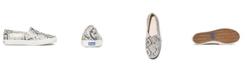 kate spade new york Women's Double Decker KS Snake Leather Sneakers