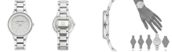 Anne Klein Women's Silver-Tone Bracelet Watch 37mm