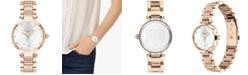 COACH Women's Park Carnation Rose Gold-Tone Bracelet Watch 30mm