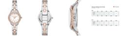 Michael Kors Women's Liliane Two-Tone Stainless Steel Bracelet Watch 28mm