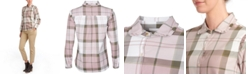 Barbour Norwood Plaid Ruffled Button-Down Shirt