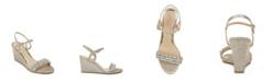 Jewel Badgley Mischka Women's Noralie Evening Wedge Sandal