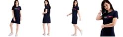 Tommy Hilfiger Logo Graphic T-Shirt Dress