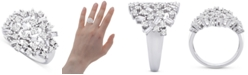 Macy's Diamond Scatter Cluster Ring (1 ct. t.w.) in 14k White Gold