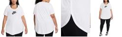 Nike Plus Size Sportswear Essential Futura Tunic