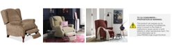 Furniture CLOSEOUT! Edie Fabric Pushback Recliner