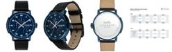 COACH Men's Bleecker Black Leather Strap Watch 42mm