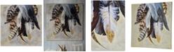 Ren Wil Feathertail Canvas Art, Quick Ship