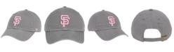 '47 Brand San Francisco Giants Dark Gray Pink CLEAN UP Cap