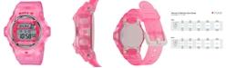 G-Shock Women's Digital Pink Jelly Strap Watch 42.6mm
