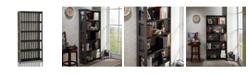 Furniture of America Iman 5-Shelf Display Case