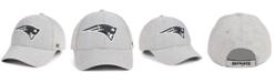 '47 Brand New England Patriots Heathered Black White MVP Adjustable Cap