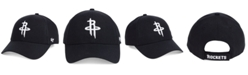 '47 Brand Houston Rockets Black White MVP Cap
