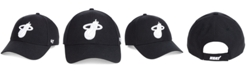 '47 Brand Miami Heat Black White MVP Cap