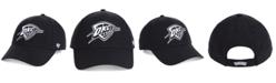 '47 Brand Oklahoma City Thunder Black White MVP Cap