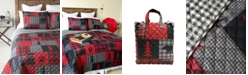 American Heritage Textiles Red Forest Quilt Collection, Twin