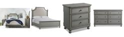 Furniture Bella Bedroom Furniture, 3-Pc Set (Upholstered Queen Bed, Nightstand & Dresser), Created for Macy's