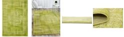 Bridgeport Home Linport Lin5 Light Green 7' x 10' Area Rug