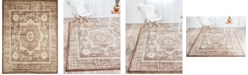"Bridgeport Home Linport Lin7 Chocolate Brown 13' x 19' 8"" Area Rug"