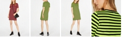 Michael Kors Striped T-Shirt Dress, in Regular & Petite Sizes