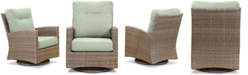 Furniture Grand Stafford Outdoor Swivel Chair with Sunbrella® Cushions