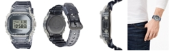 G-Shock Men's Digital Clear Resin Strap Watch 42.8mm