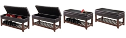 Winsome Monza Bench with Storage Chest