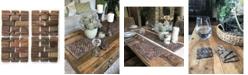 Hip-o Modern Living Rosewood Coasters, Set Of 4