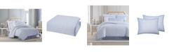Charisma CLOSEOUT! Settee Cotton Printed King 4 Piece Duvet Cover Set
