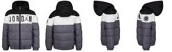 Jordan Little Boys Colorblocked Hooded Puffer Jacket