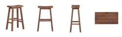 "Boraam Sonoma Collection 29"" Saddle Stool"