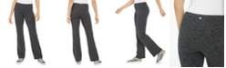 Ideology Flex Stretch Bootcut Yoga Full Length Pants, Created for Macy's
