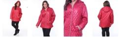 White Mark Shine Plus Women's Puffer Coat