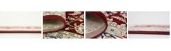 Bridgeport Home Zara Zar1 Burgundy Area Rug Collection
