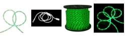 Northlight 288' Commericial Grade Green LED Indoor/Outdoor Christmas Rope Lights on a Spool