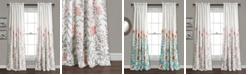 """Lush Decor Aprile 52"""" x 84"""" Floral Curtain Set"""