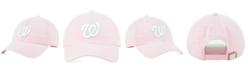'47 Brand Washington Nationals Pink CLEAN UP Cap