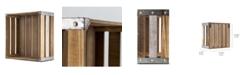 Crystal Art Gallery American Art Decor Rustic Wood Storage Crate
